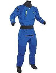 2017 Palm Atom Back Zip Whitewater Kayak Drysuit Blue Inc Fleece 11735 Sizes- - Small
