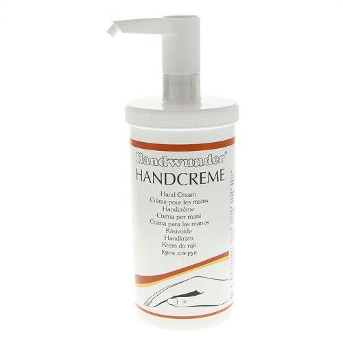 Handwunder Handcreme Pflege und Schutz für die Hände mit Pflanzenextrakten, 450ml mit Spender