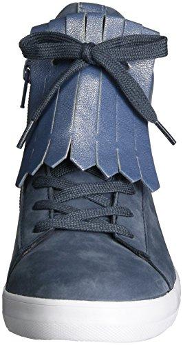 Gabor Shoes Damen Comfort High-Top Sneaker Blau (avio kombi 36)