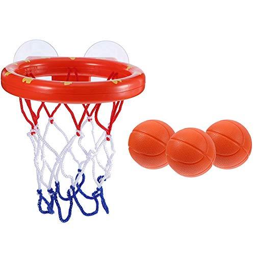 Gebuter Kleinkind Badespielzeug Kinder Basketballkorb Badewanne Wasser Spielset für Baby Girl Boy