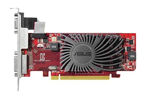 Asus R5230-SL-2GD3-L AMD Grafikkarte (PCIe 2.1 x16, 2GB DDR3 Speicher, HDMI, DVI) (Grafikkarte Amd 2gb)