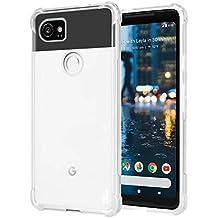 Pixel 2XL custodia in TPU, Nxet® ultra slim trasparente copertura leggero/No Bulkiness/assorbimento degli urti/resistente ai graffi morbido TPU protettiva custodia bumper per Google pixel 2XL (2017)