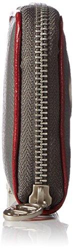 Poodlebag 3GC0815WASMGR Unisex-Erwachsene Geldbörsen 11x10x2 cm (B x H x T) Grau (Grey)