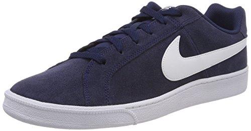 best sneakers b14dc f6e0e Nike Court Royale Suede Zapatillas de tenis Hombre, Azul Blanco (Midnight  Navy