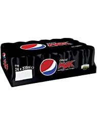 Pepsi Max Cans, 330ml (Pack of 24)