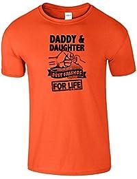 Daddy And Daughter Meilleur copains Pour La vie T-Shirt Drôle