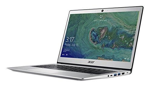 Acer Swift 1 (SF113-31-P72F) 33,8 cm (13,3 Zoll, Full-HD, IPS, matt) Ultrabook (Intel Pentium N4200, 4 GB RAM, 64 GB eMMC, Intel HD, USB 3.1, USB 3.0 mit Power-Off USB Charging, BT 4.0, Win 10 S) Silber