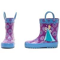 Diseny- Die Eiskönigin - völlig unverfroren - Gummistiefel für Kinder - regen Stiefel- UK Größe, 1 - EU Größe 33