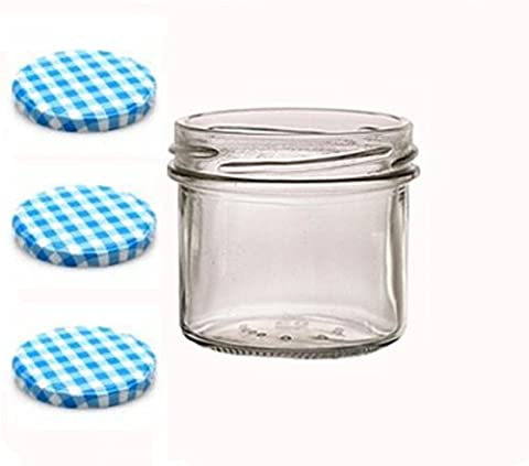 Sturzgläser lot de 100 petits pots en verre de 125