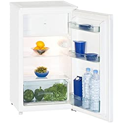 Exquisit KS117-4A++ freestanding 80L A++ White combi-fridge - combi-fridges (Freestanding, White, Right, 80 L, 42 dB, 69 L)