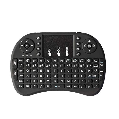 SNOWINSPRING I8 2,4 Ghz Drahtlos Mini QWERTY Tastatur Maus Touchpad mit Empf?nger für PC Intelligent Tv Ps4 Htpc - Besten Der Die Mailbox