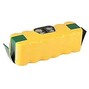 Mitsuru® 4500mAh Ni-MH 14,4V batería para iRobot Roomba 500600700800Serie sustituye a iRobot 117028050180601Vac de 500nmh de 33