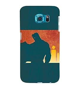 EPICCASE Superguy the Saviour Mobile Back Case Cover For Samsung Galaxy S6 Edge (Designer Case)