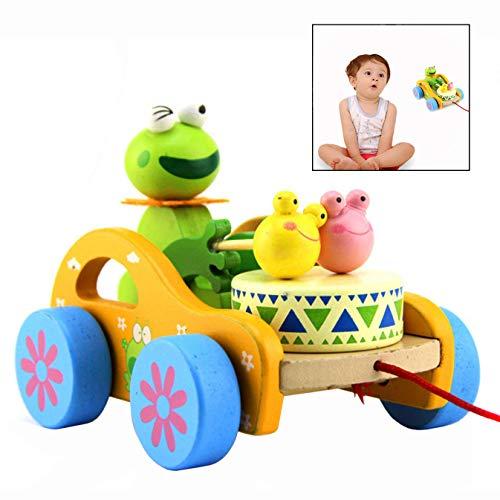 n Spielzeug, Niedlich-Frosch Nachziehtier Auto Spielzeug für Kids ()