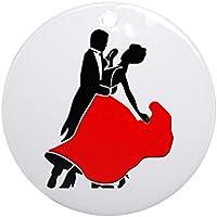 CafePress–Shall We Dance Ornament (rotondo)–Vacanza decorazione