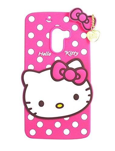 Qzey Nice Kitty Back Cover For Lenovo K4 Note - Pink