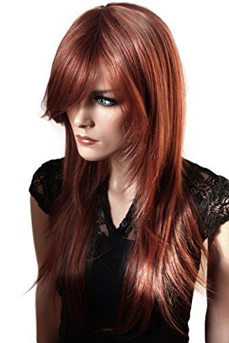 PRETTYSHOP Mode perruque les cheveux longs lisse volumineux résistant à la chaleur brun # 30/33 FZ505