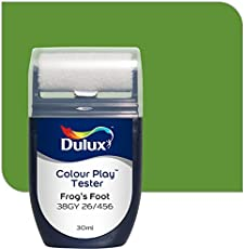 Dulux Color Play 30 ml Paint Tester (Frog's Foot, Color Code: 38GY 26_456)