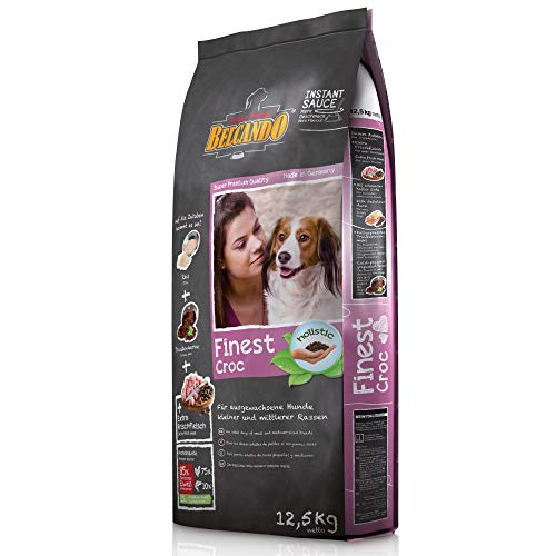 Belcando Finest Croc [12,5 kg] Hundefutter | Trockenfutter für kleine & mittlere Hunde | Alleinfuttermittel für ausgewachsene Hunde ab 1 Jahr