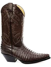 df5fa2fb291 Amazon.co.uk: Cowboy Boots - Boots / Men's Shoes: Shoes & Bags