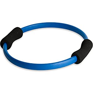 MOVIT Pilates Ring für Piltates-Übungen und Kräftigung der Oberkörper- und Beinmuskulatur, Yoga Ring Core-Trainer Pilates Circle