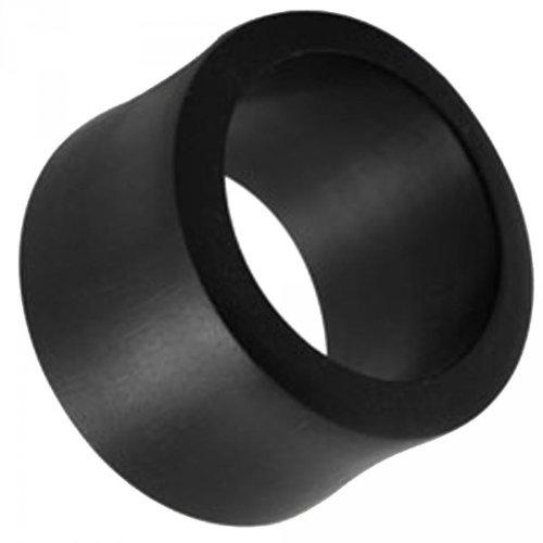 3-25-millimeter-tunel-plug-dilatadas-tunel-de-tubo-de-madera-de-cuerno-de-palm-colour-negro-talla6-m