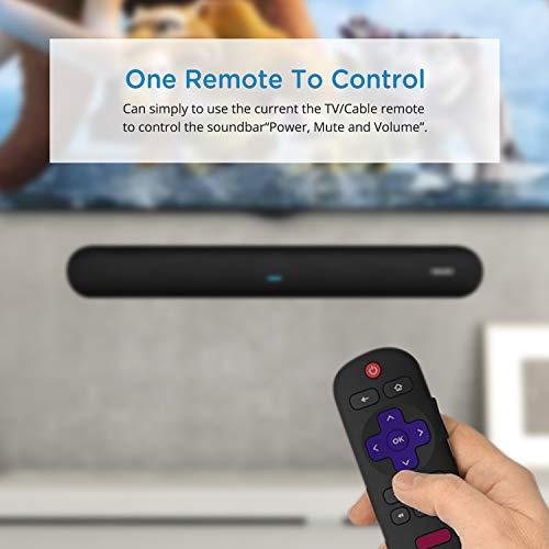 41d5uWXLMsL. SS500  - Soundbar, MEGACRA 80 Watts TV Sound Bar Home Theater Speaker with Dual Connection Way, Bluetooth 5.0, Movie/Music…
