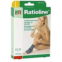 RATIOLINE active Fussgelenkbandage L, 1 St preisvergleich bei billige-tabletten.eu
