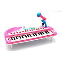 EASY FUTURE 37-Key Toy Keyboard Piano Electronic Musical Instrument Child Kids Musical Toys