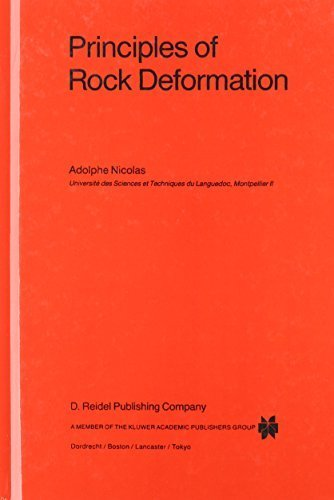 Principles of Rock Deformation (Petrology and Structural Geology) by Adolphe Nicolas (1987-01-31)