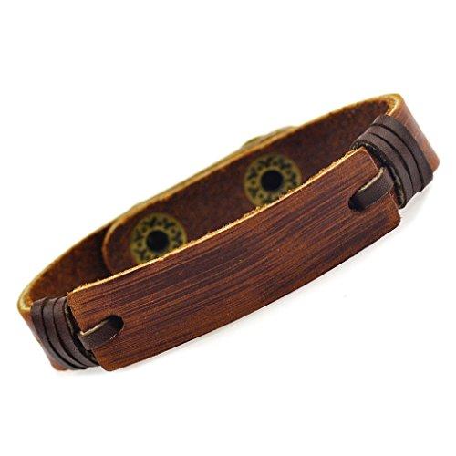 conception-simple-en-cuir-marron-fonce-enveloppante-bracelet-pour-cadeau-de-vacances-amis