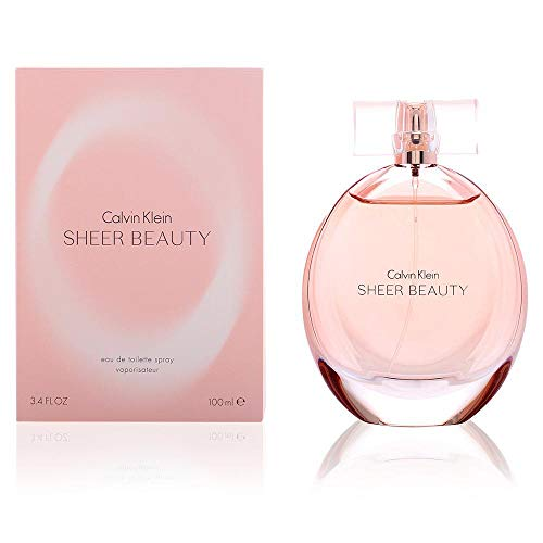Calvin Klein Sheer Beauty Women EDT Spray 100.0 ml, 1er Pack (1 x 100 ml) -