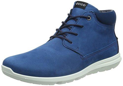 Ecco Calgary, Chaussures Multisport Outdoor Homme Bleu (POSEIDON59632)