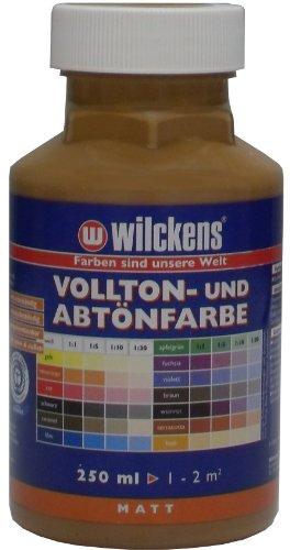 Wilckens Vollton- und Abtönfarbe 250ml / matt / caramel -
