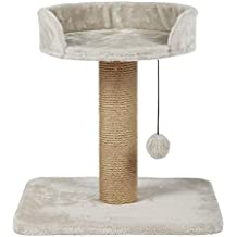 Callas RioAndMe Cat Activity Scratching Post Tree with Toy, 46 cm (Cream)