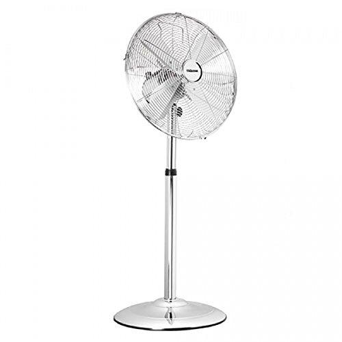 Buy'shop-online-Tristar VE-5951 Ventilateur sur Pieds Chromé 3 Vitesses 1250 tr/minutes Oscillant Diamètre: 40 cm