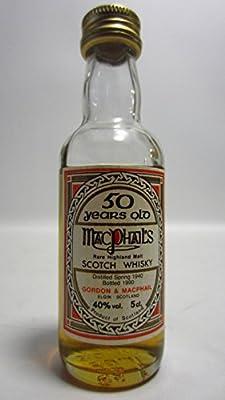 Macallan - Rare Highland Malt Miniature - 1940 50 year old Whisky