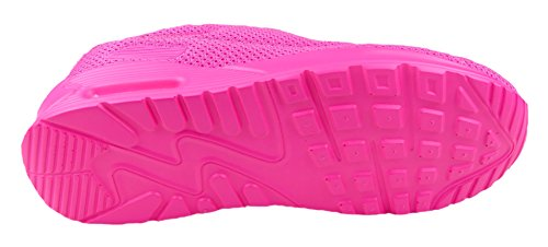 gibra , Baskets pour femme rose bonbon