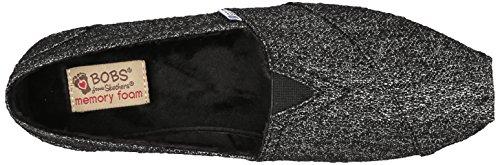 Flotteurs De Skechers Chill Luxe Chaussure Black/Silver