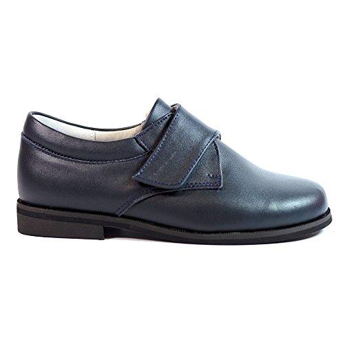 Zapatos NIÑOS COMUNIÓN Bubble Bobble B521 Marino