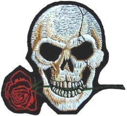 sew-on-iron-on-embroidered-patch-biker-skull-with-rose-badge