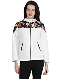 Martini White Foma Quilted Lightweight Foma Stretch Jacket