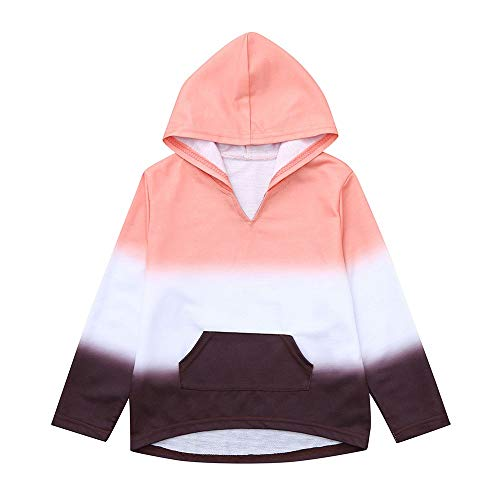 Kinder Baby Jungen Mädchen Pullover Herbst Winter Yanhoo Langarm Farbverlauf Sweatshirt Langarmshirt Hoodie Kapuzenpullover Bluse Tops