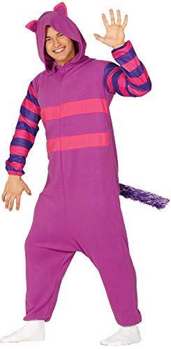 (Fancy Me Herren Damen Erwachsene Grinder Katze Pyjama TV Film Weltbuch Tag Woche Halloween Karneval Kostüm Outfit)