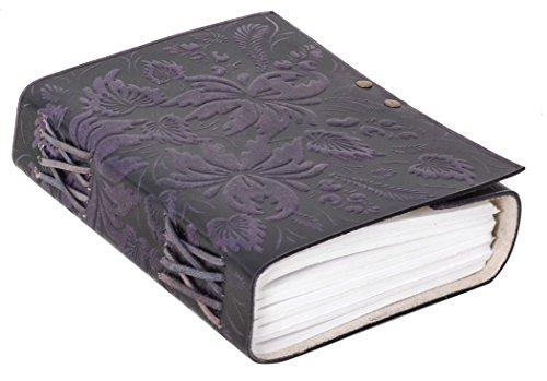 Notizbuch Gusti Leder 'Bonnie' DIN B5 Lederbuch Notizblock Buch Tagebuch Skizzenbuch Lederaccessoire...