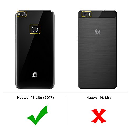 EasyAcc-Huawei-P8-Lite-2017-Custodia-Morbido-TPU-Custodia-Cover-Cristallo-limpido-Trasparente-Slim-Anti-Scivolo-Custodia-Protezione-Posteriore-Cover-Antiurto-per-Huawei-P8-Lite-2017