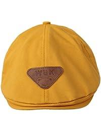544eec49c15 Bigood Béret Enfant Bébé Coton Bonnet Casquette Souple Chapeau Déguisement  ...