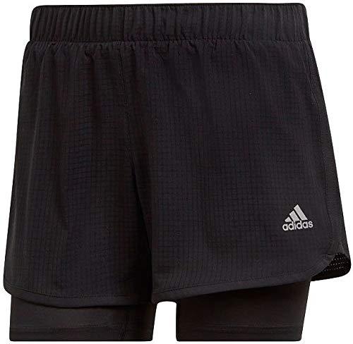adidas Damen M10 W Shorts, Schwarz (Black), Gr. L 3 Zoll