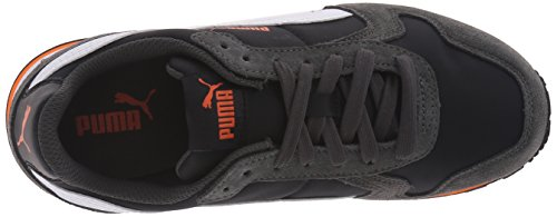 Puma ST Runner NL Jr garçons Daim Baskets Puma Black-Puma White