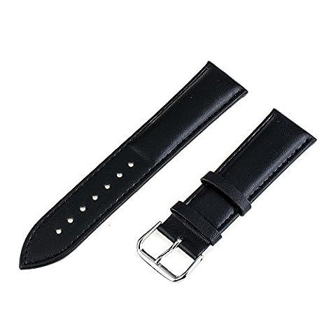 TRUMiRR 20mm Cuir Véritable Bracelet Montre Bracelet pour Samsung Gear